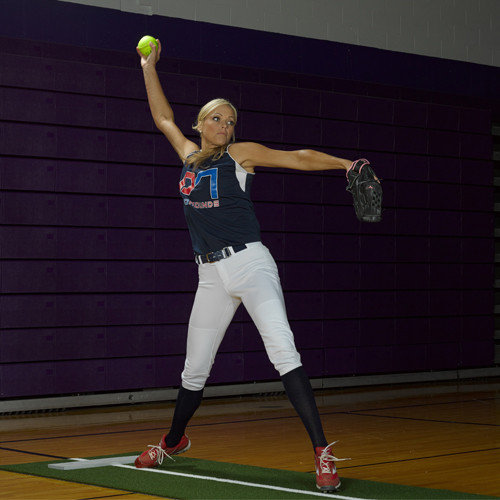 pitching distance mound premium how rubber x loading end mats main image rubbers pitchers wonderful softball spiked make mat green promounds to