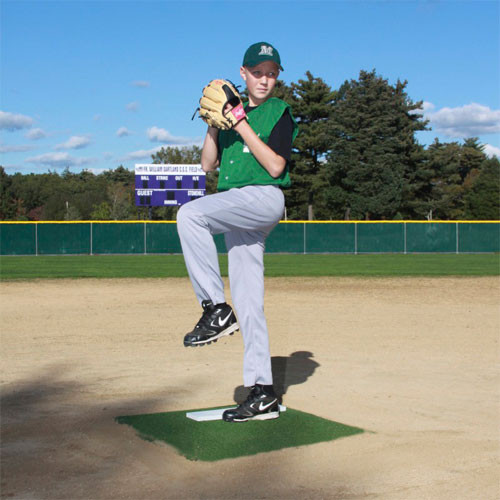 Pitcher S Training Mound Promounds Green Artificial Turf