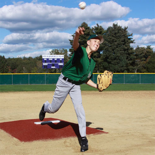 Green Turf ProMounds Minor League Style Pitching Game Mound