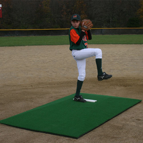 Promounds Major League Pitching Mound With Green Turf On