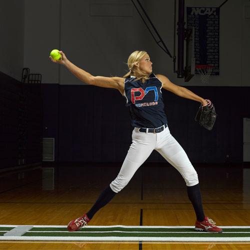 Jennie Finch Pitching Lane Pro Softball Pitching Mats