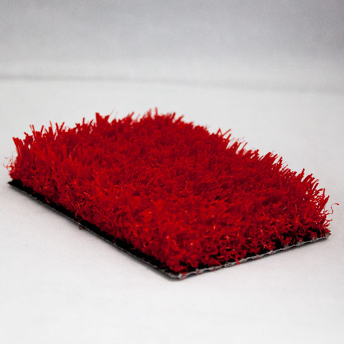 PL929 Red Grass-like Artificial Turf for Indoor Facilities from On Deck Sports