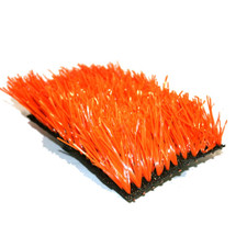 Orange-PG40: Orange Colored Artificial Turf