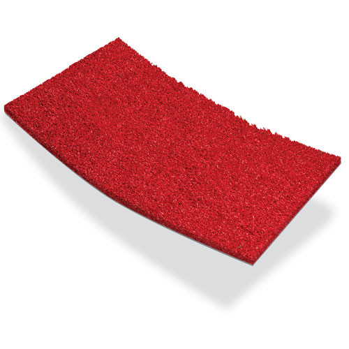 GT48 Red Unpadded Artificial Turf