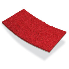 GT48 Red Padded Artificial Turf