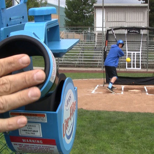 Jugs Lite-Flite Combo BB/SB Pitching Machine