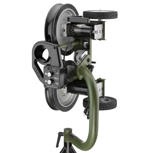 ATEC M2 Baseball Training Machine on Tripod