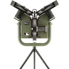 ATEC M3 Baseball Training Machine on Tripod