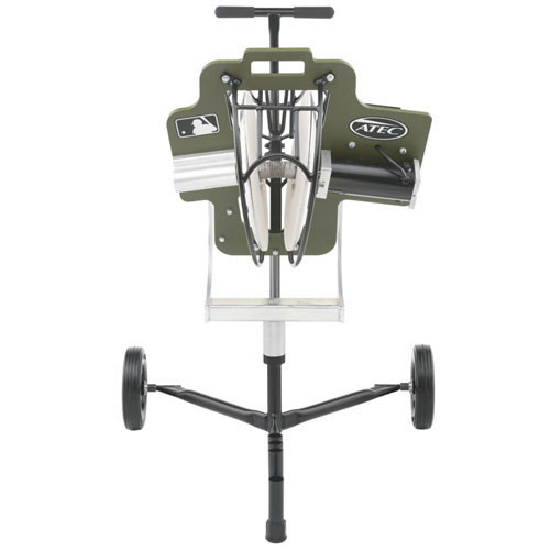 ATEC R3 Baseball Training Machine on Caddypod