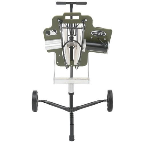 ATEC R3 Baseball Training Machine on Caddypod