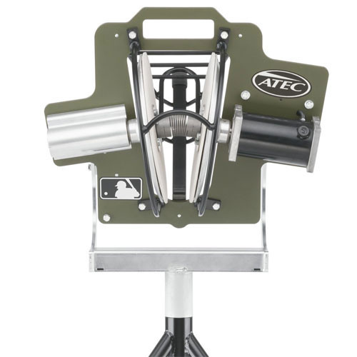 Atec R2 Baseball Training Machine On Caddypod Pitching