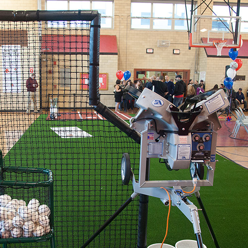 Junior Hack Attack Pitching Machine - Baseball