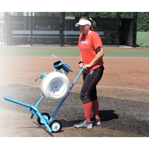 Jugs BP1 Softball Pitching Machine with Cart