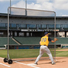 Pro Series 10'x10' Fungo Field Screen with wheels