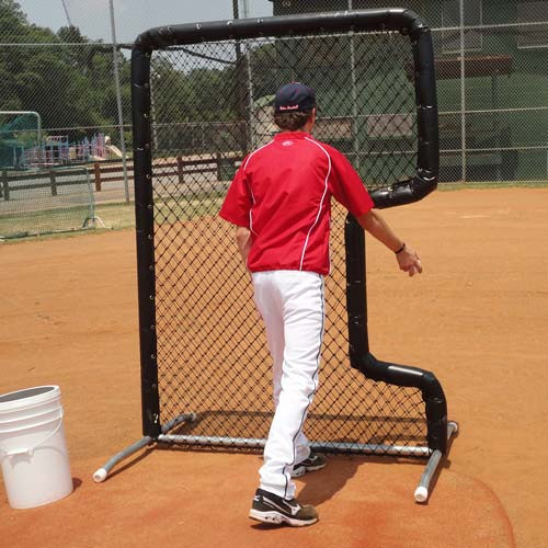 Bullet Front Toss Screen Protective Screens On Deck Sports