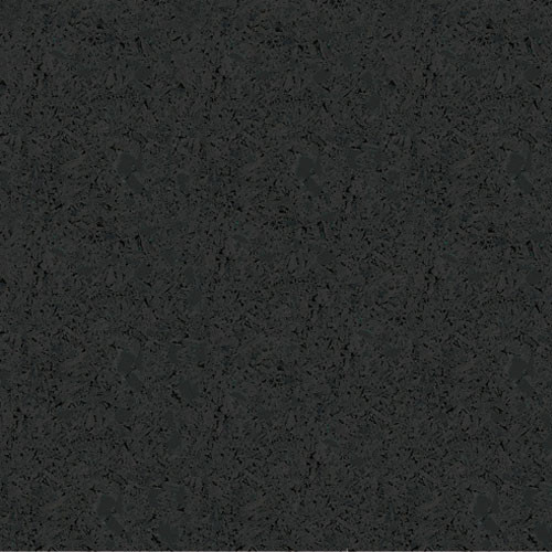 Rubber Flooring Roll - Black - 8mm