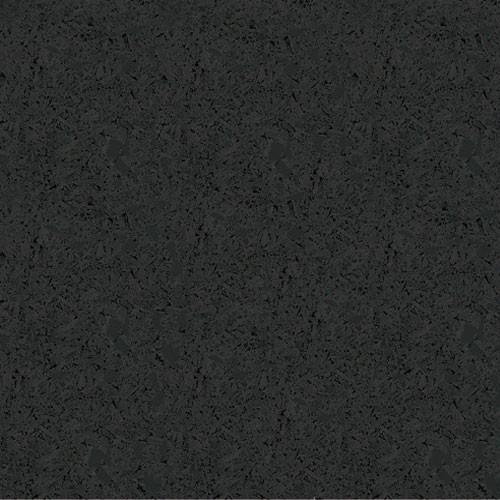 Rubber Flooring Roll - Black - 6mm