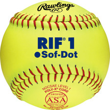 Rawlings RIF Fastpitch Softballs