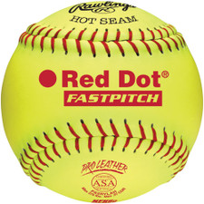 Rawlings Pro Leather Red Dot ASA/NFHS