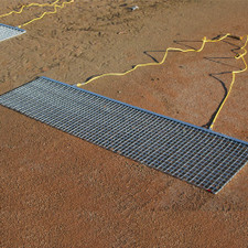 Rigid Steel Drag Mats