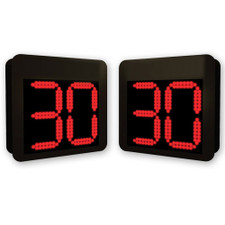 Permanent Mount Basketball Shot Clocks