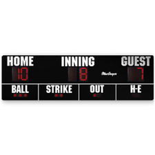 16' x 5' Baseball Outdoor Scoreboard