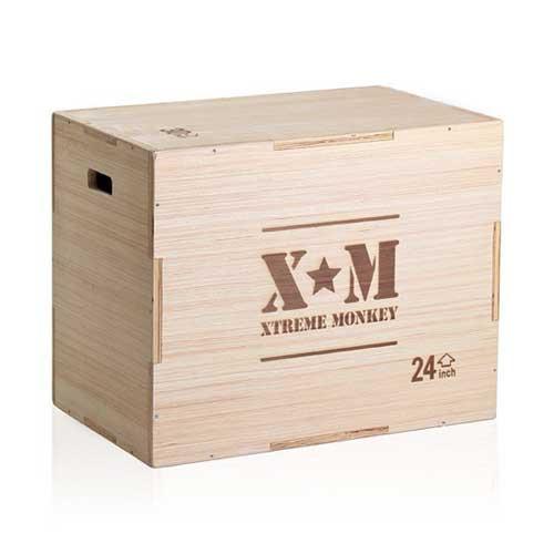 Xtreme Monkey Flat Pack Wood Plyo Box