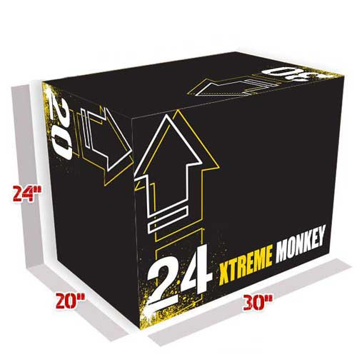 Xtreme Monkey 3 in 1 Soft Plyo Box