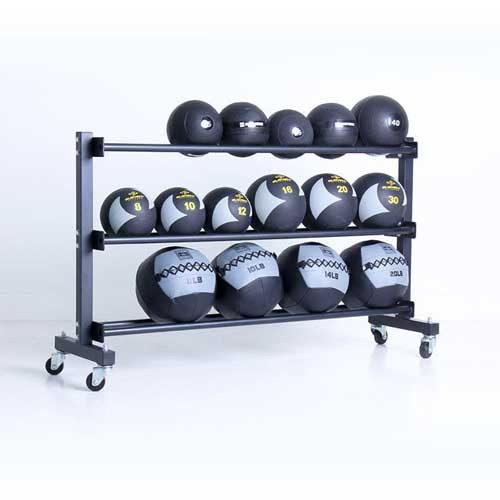 Element Fitness Medicine Ball Racks