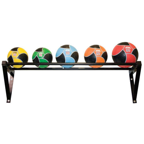 Wall-Mounted Medicine Ball Rack