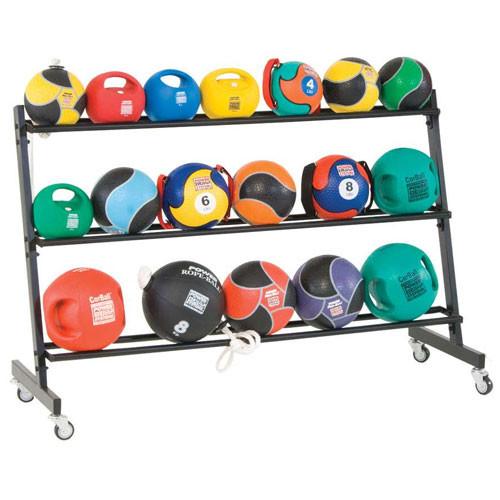 3-Tier Medicine Ball Rack