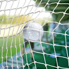 White Golf Barrier Netting