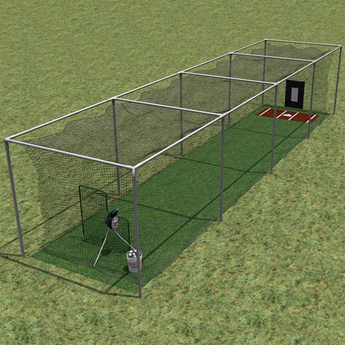 Custom Batting Cage Net Calculator