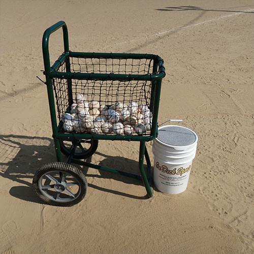 Baseball Ball Cart