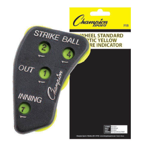 4-Wheel Umpire Indicator