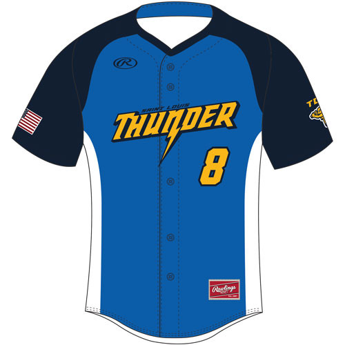 Rawlings Full Button Sublimated Jersey