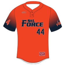 Rawlings Two-Button Sublimated Jersey