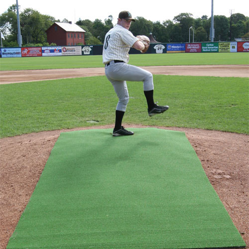 4' x 12' Premium Green Pitching Mat