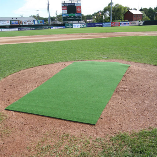 4' x 12' Green Pitching Mat (unlined)
