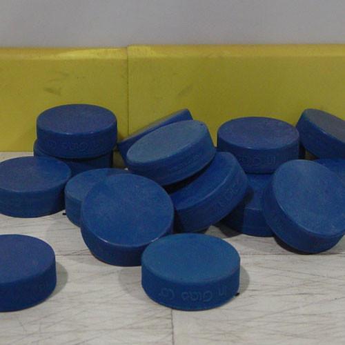 1 Dozen Blue Ice Hockey Pucks