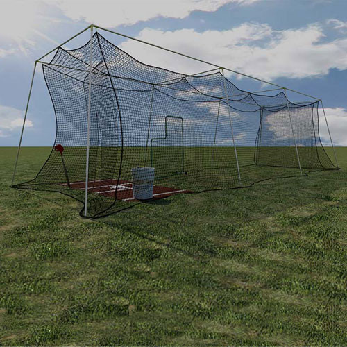 Backyard Batting Cage - 30' (Poles Not Included)