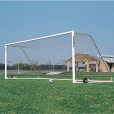 Aluminum Square Faced Soccer Goal