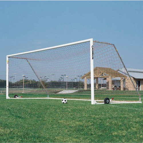 Aluminum Square Faced Soccer Goal