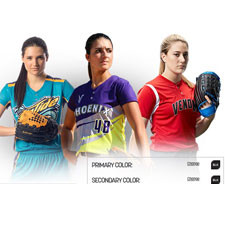 Champro Softball Uniform Builder