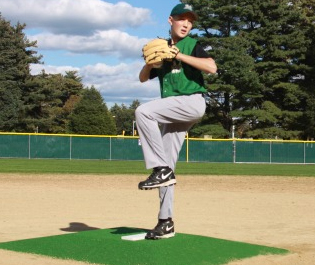 Promounds Bronco League Portable Pitchers Mound Green