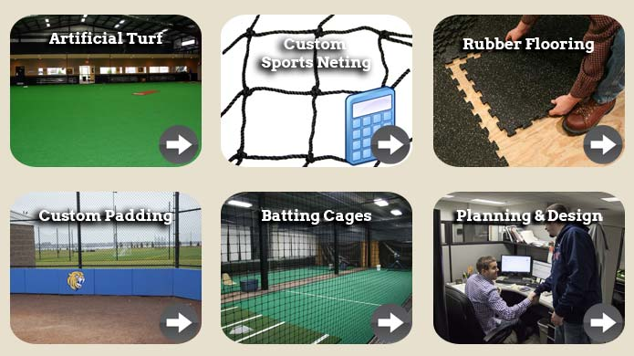 The farm baseball softball training facility images for Indoor facility design