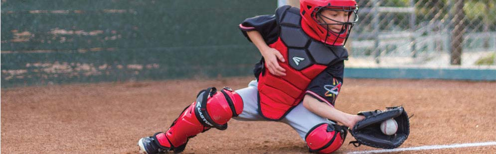 Catcher s Leg Guards for Baseball   Softball 1dabe7591aa1