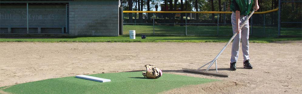 Infield Grooming Equipment: Field Rakes & Tamps for Baseball & Softball Fields