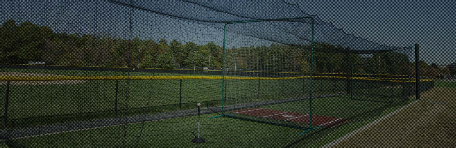 Outdoor Batting Cage For Baseball Amp Softball On Deck Sports
