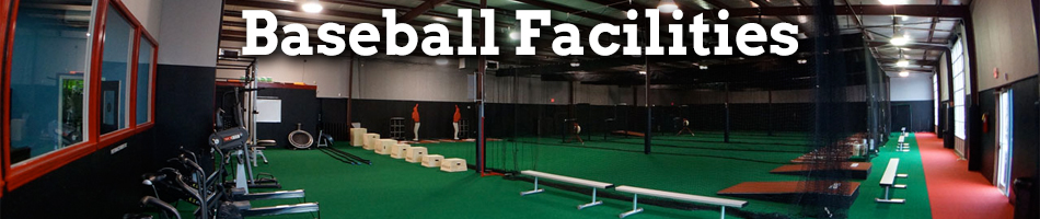 Indoor baseball facilities design equipment on deck for Design indoor baseball facility